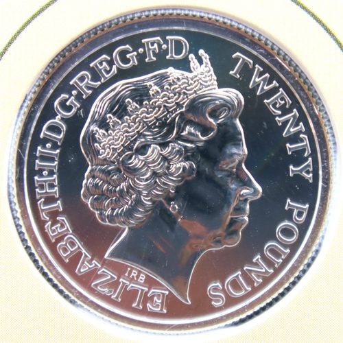3031 - Royal Mint WWI silver £20 coin in packet. P&P Group 1 (£14+VAT for the first lot and £1+VAT for subs...