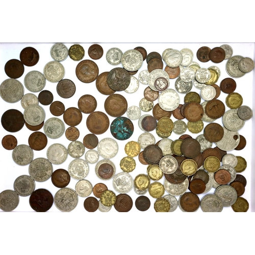 3039 - Mixed collection of UK coins of George VI. P&P Group 1 (£14+VAT for the first lot and £1+VAT for sub...