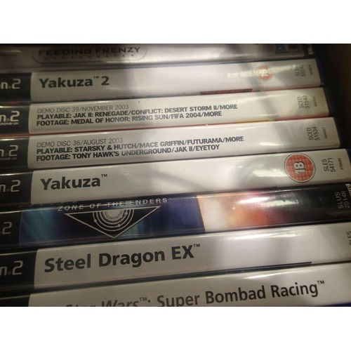 2241 - Approximately one hundred Sony Playstation 2 games. Sonic Mega Collection & Kingdom Hearts missing b...