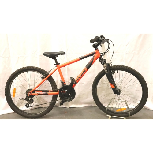 1002 - Rockrider childs bicycle. Not available for in-house P&P, contact Paul O'Hea at Mailboxes on 01925 6...