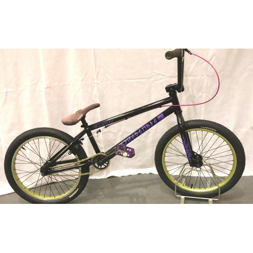 1003 - Refurbished We The People Justice BMX bike, new graphics, paint, cables etc. Not available for in-ho...