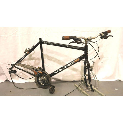 1011 - Viking Ambleside 23 inch bike, frame only. Not available for in-house P&P, contact Paul O'Hea at Mai...
