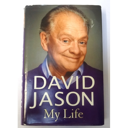 304 - DAVID JASON SIGNED 'MY LIFE'  hardback book, signed to the title page, with a dust jacket and Certif...