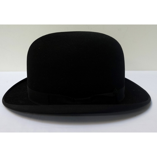 312 - GENTLEMAN'S BOWLER HAT size 6 3/4 marked to the interior The Wilson Hat by Joseph Wilson & Sons Limi...