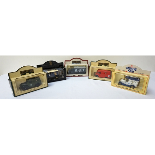 321 - SELECTION OF BOXED DIE CAST VEHICLES including Corgi Glasgow Closed Tram, Vanguards Ford Anglia and ...