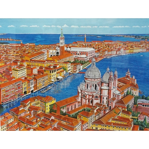 355 - ED O'FARRELL Venice, limited edition print, signed and numbered 13/200, 45.5cm x 59.5cm - RE-OFFERED...