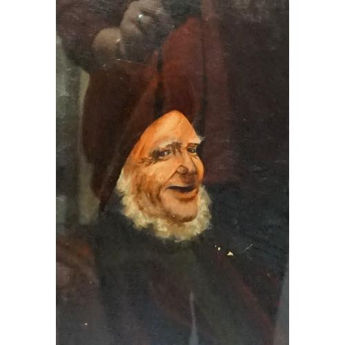 368 - BRITISH SCHOOL (early 20th century)  Portrait of a jovial Seaman, oil on canvas, 41.5cm x 31cm  - RE...
