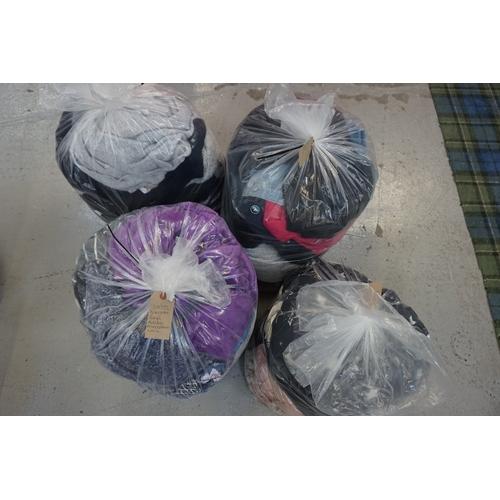 40 - FOUR BAGS OF LADIES' CLOTHING ITEMS including: NAVIGATOR; PAPAYA; ADIDAS; INDIGO; NEW LOOK; VERO MOD...