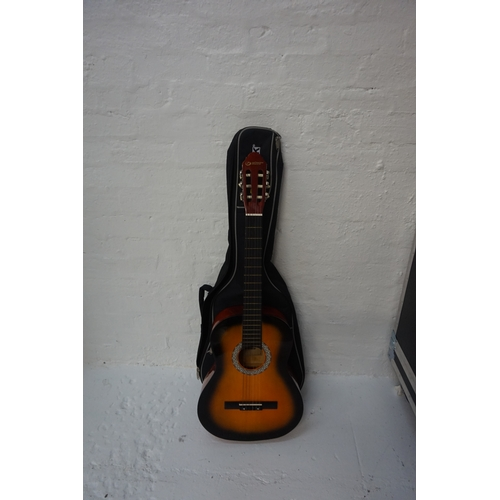 50 - INFINITE MUSIC ACOUSTIC GUITAR With soft case....