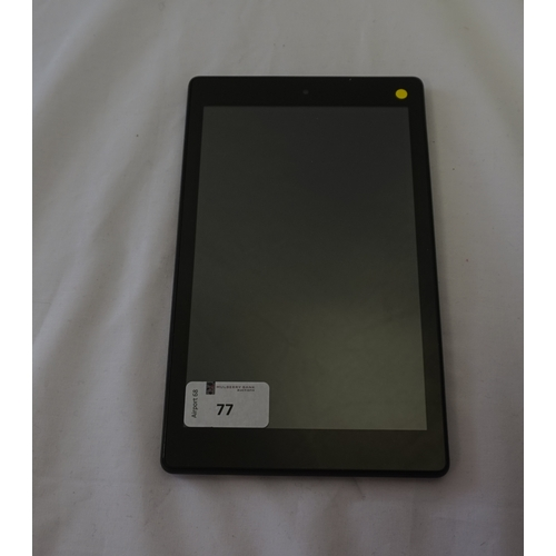77 - KINDLE FIRE HD 8