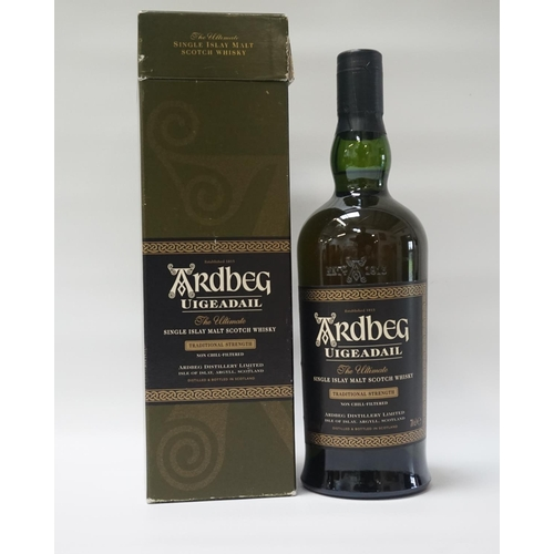 110 - ARDBEG UIGEADAIL One of the earlier bottlings of the Ardbeg Uigeadail Single Malt Scotch Whisky.  70...