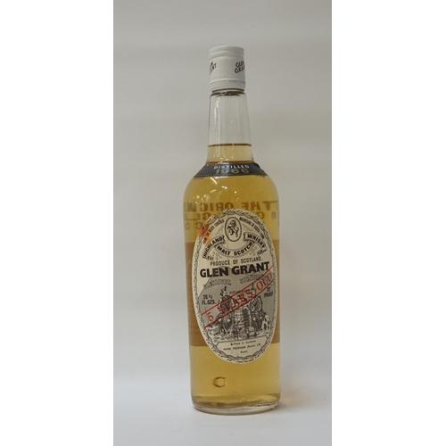 120 - GLEN GRANT 5YO - 1966 A rare old bottle of Glen Grant 5 Year Old Single Malt Scotch Whisky distilled...