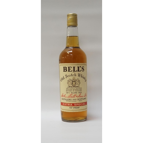 121 - BELL'S OLD SCOTCH WHISKY - 70 PROOF A bottle of Bell's Old Scotch Blended Whisky from the late 1960'...