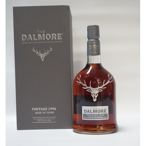 132 - THE DALMORE 1996 PORT CASK FINISH Two things that go together are Whisky & Port.  This is a fine exa...