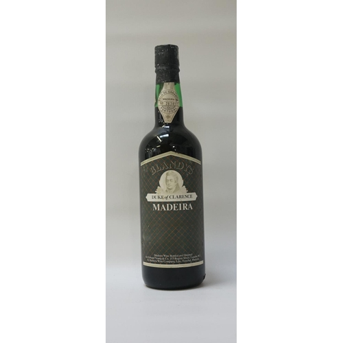 136 - BLANDY'S DUKE OF CLARENCE MADEIRA - 1980s An older bottle of the Blandy's Duke of Clarence Rich Malm...