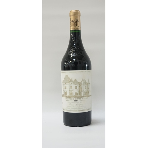 154 - CHATEAU HAUT-BRION 1996 VINTAGE A rare and sought after bottle of the Chateau Haut-Brion 1996 Vintag...