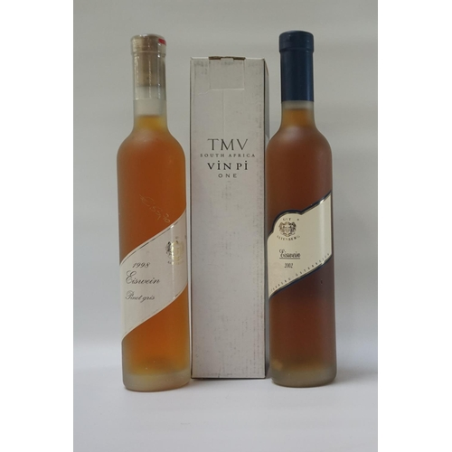 161 - THREE BOTTLES OF DESSERT WINE A selection of three bottles of sweet dessert wine, comprising: one TM...
