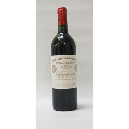171 - CHATEAU CHEVAL BLANC 1996 VINTAGE A fine bottle of the Chateau Cheval Blanc 1996 St. Emilion Grand C...