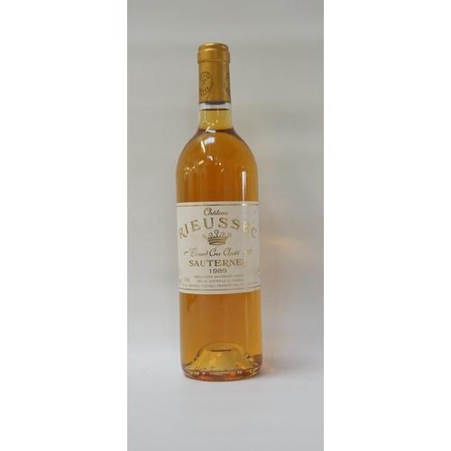 182 - CHATEAU RIEUSSEC 1er GRAND CRU SAUTERNES A bottle of the Chateau Rieussec Premier Grand Cru Classe S...