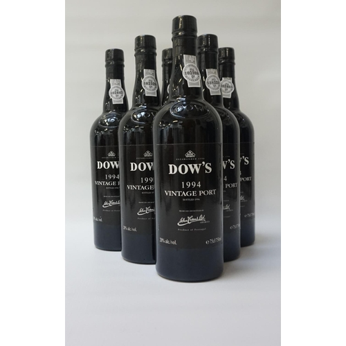 191 - DOW'S 1994 VINTAGE PORT A case of six bottles of Vintage Port from one of the most famous names in P...