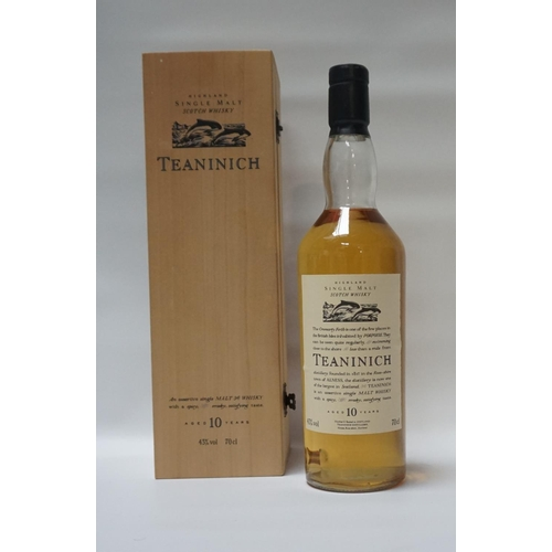 29 - TEANINICH 10YO FLORA & FAUNA The famous releases of Single Malt coined as the