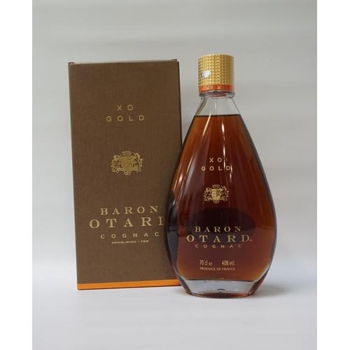 65 - BARON OTARD XO GOLD COGNAC A fine bottle of Cognac from banks of the River Charente.  Baron Otard XO...