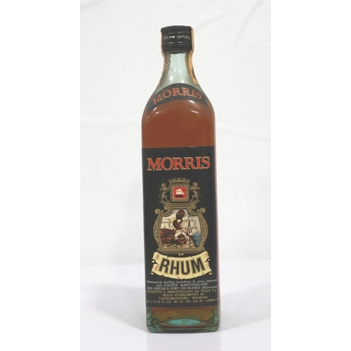 105 - MORRIS RHUM CIRCA 1960s A well presented bottle of Morris Rhum which we believe to be from the 1960s...