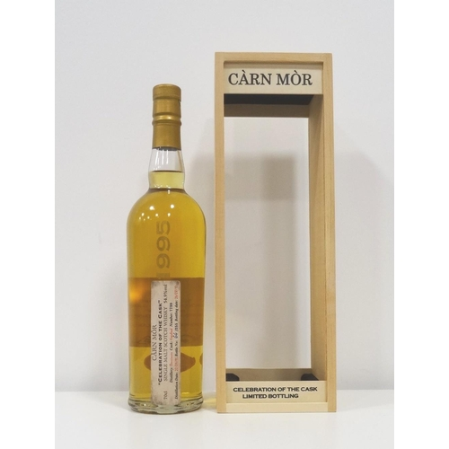 18 - BENRINNES 1995 - CARN MOR  An exceptional bottling of the Carn Mor