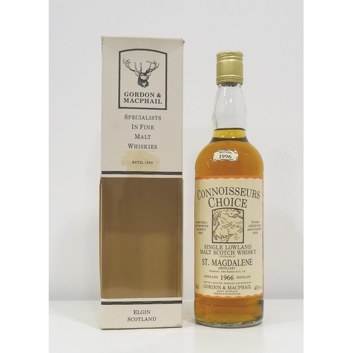 19 - ST. MAGDALENE 1966 - CONNOISEURS CHOICE An extremely rare bottle of the Gordon & MacPhail's Connoiss...