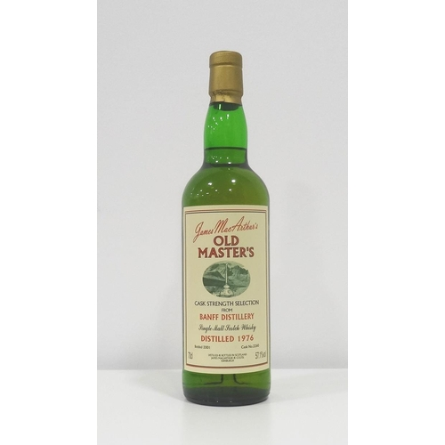 20 - BANFF 1976 OLD MASTERS An extremely rare bottle (I only ever seem to see miniatures of this!) of Ban...