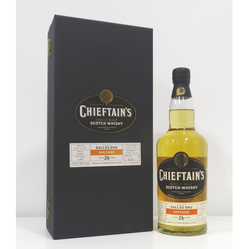 24 - DALLAS DHU 26YO - CHIEFTAIN'S Distilled just a few years before the Distillery finally closed in 198...