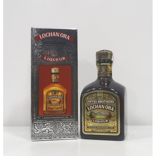 55 - CHIVAS BROTHERS LOCHAN ORA LIQUEUR The famous whisky liqueur by Chivas Brothers, Lochan Ora.  700ml....