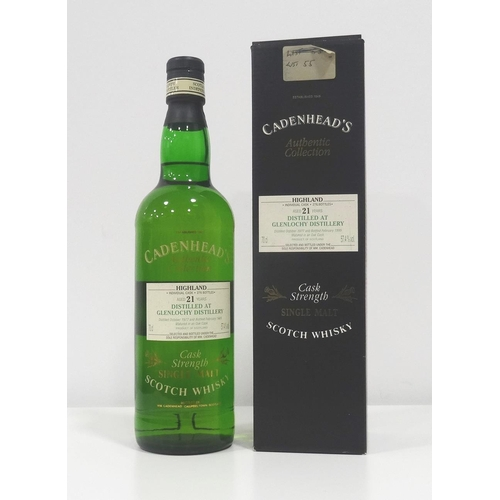 56 - GLENLOCHY 21YO CADENHEAD'S Another fantastic bottling this time from a silent distillery in Fort Wil...