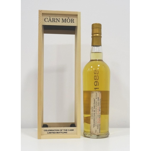 57 - GLEN KEITH 1988 - CARN MOR  An unusual bottle of Carn Mor