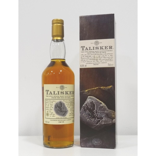 96 - TALISKER 10YO A nice example of the Talisker 10 Year Old Single Malt Scotch Whisky from the 1990s.  ...