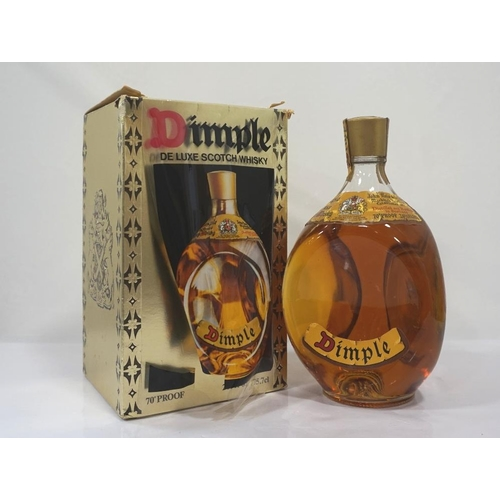 97 - HAIG DIMPLE 70 PROOF A bottle of the iconic Haig's Dimple De Luxe Scotch Whisky.  26 2/3 Fl. Ozs.  7...