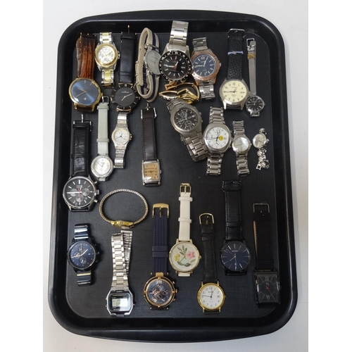 17 - SELECTION OF LADIES AND GENTLEMEN'S WRISTWATCHES including Accurist, Andreas Osten, Lorus, Sekonda, ...