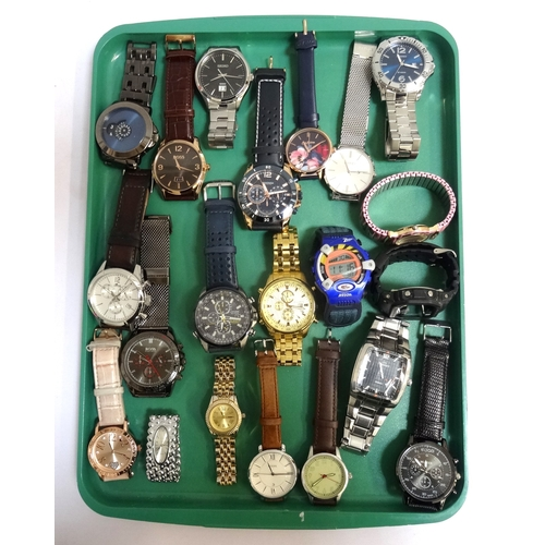 50 - SELECTION OF LADIES AND GENTLEMEN'S WRISTWATCHES including Hugo Boss, Seiko, Sekonda, Lotus, Citizen...