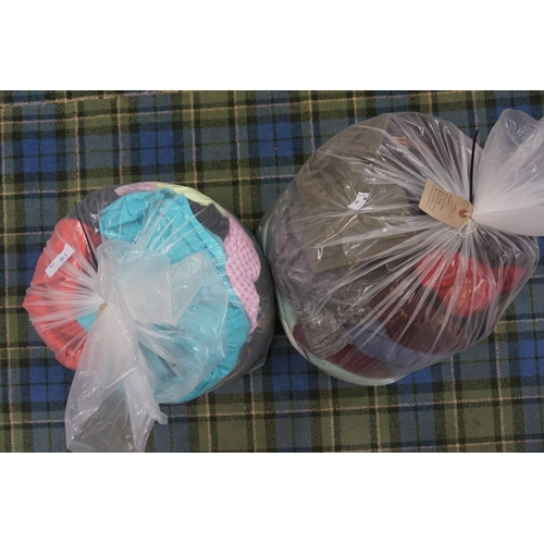 18 - TWO BAGS OF LADIES' CLOTHING ITEMS including: NEXT; NEW LOOK; PER UNA; BONMARCHE; CRAGHOPPERS; UNI Q...