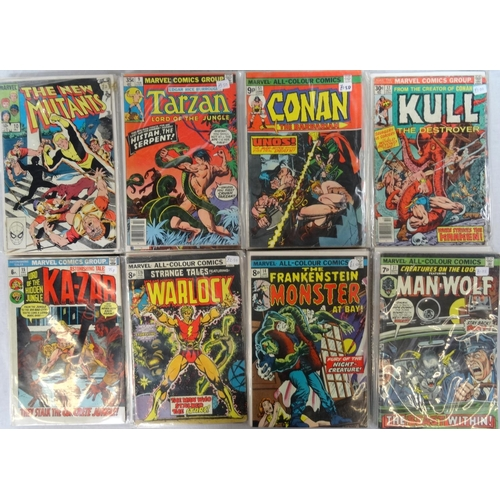 377 - MARVEL COMICS   dates ranging from 1970s - 80s; comprising six Warewolf by Night from 1970s (21, 26 ...