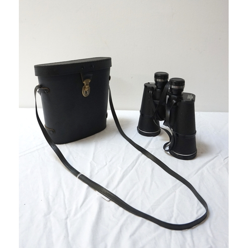 275 - PAIR OF BOOTS PACER FIELD GLASSES with 10x50 magnification, cased - RE-OFFERED IN TIMED AUCTION...