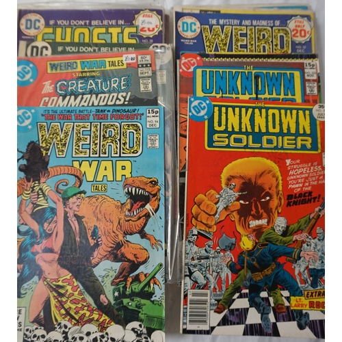 383 - SELECTION OF DC COMICS dates ranging from 1960s - 90s; comprising two Welcome Back, Kotter from 1977...