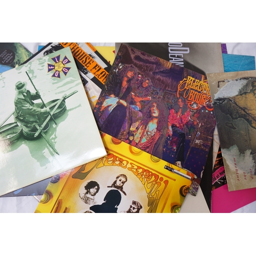 372 - SELECTION OF INDIE, SCOTTISH ROCK & POP AND PUNK LP RECORDS including Nirvana, Jesus Jones, The Migh...