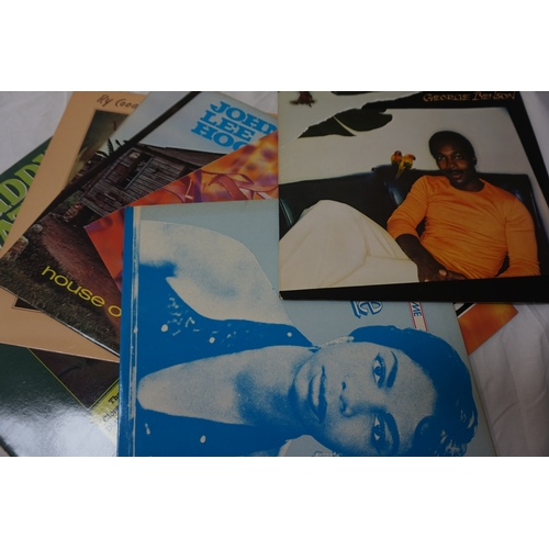 370 - SELECTION OF JAZZ, BLUES AND SOUL LP RECORDS including, George Benson, Nina Simone, The Best of Acid...