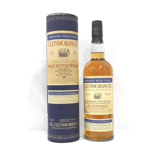 2 - GLENMORANGIE BURGUNDY WOOD FINISH The Glenmorangie Distillery were one of the pioneers of