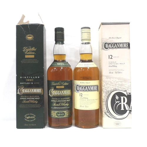 11 - TWO CRAGGANMORE A pair of Cragganmore expressions.  First a Cragganmore Distillers Edition Single Ma...