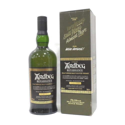 21 - ARDBEG RENAISSANCE The final instalment in the series celebrating the reappearance of the Ten Year O...