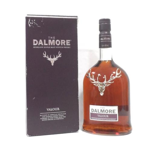 30 - DALMORE VALOUR  A bottle of this travel retail exclusive Dalmore Valour Single Malt Scotch Whisky.  ...