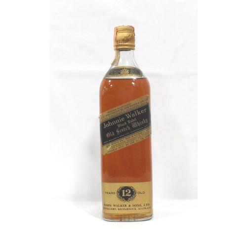 36 - JOHNNIE WALKER BLACK LABEL 1970s An export bottle of the Johnnie Walker Black Label Blended Scotch W...