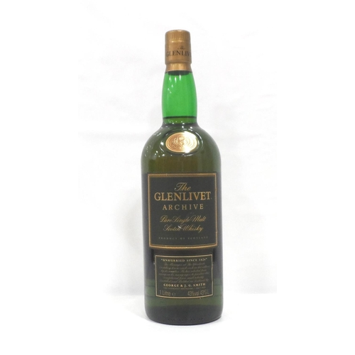 40 - GLENLIVET ARCHIVE 15YO Another whisky with